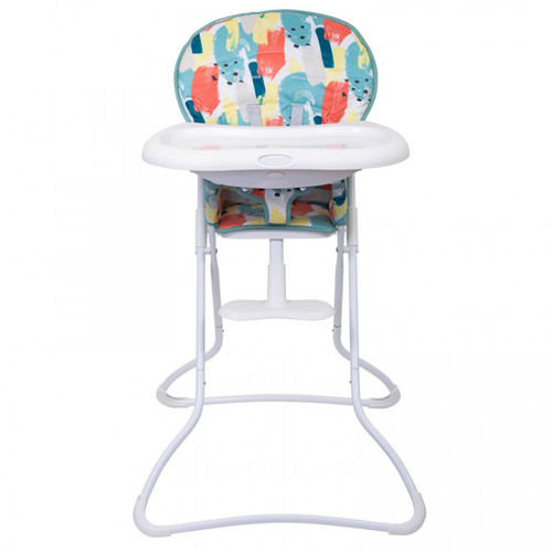 Graco Snack n Stow Compact Highchair, Paintbox