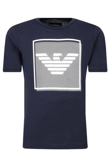 EMPORIO ARMANI BOYS T-SHIRT REGULAR FIT - Navy