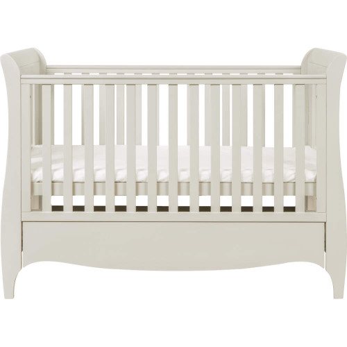 Tutti Bambini Roma Sleigh Cot Bed + Drawer (Linen)