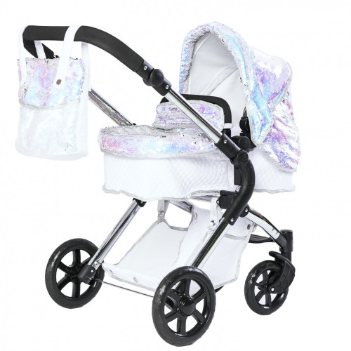 Roma Polly Amy Childs Single Dolls Pram - Mermaid 3-9 years