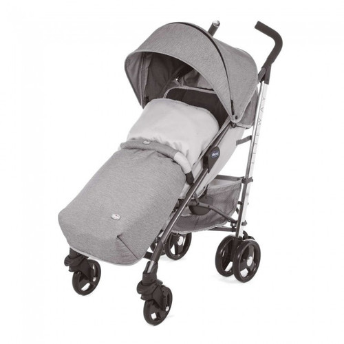 Chicco Liteway 3 Stroller with Bumper Bar - Titanium