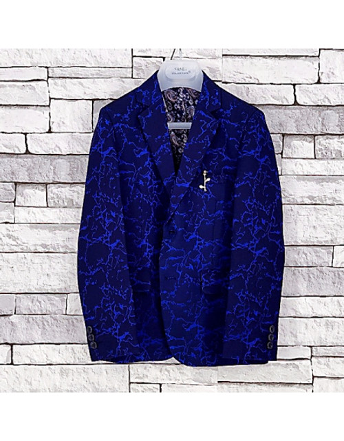 NEW BOYS ✅Children ✅ Smart BLAZER SUIT JACKET Royal Blue Age1 Age 15 Years