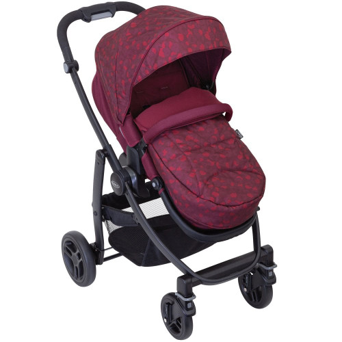 GRACO Evo Stand Alone Stroller (Red Leopard)