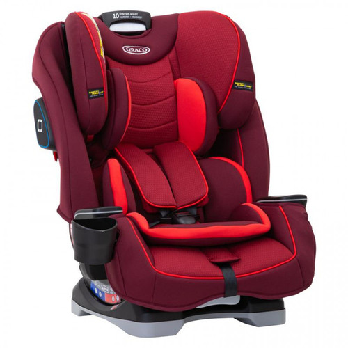 Graco Slimfit Group 0+1/2/3 Car Seat, Chili