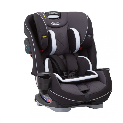 Graco Slimfit LX Group 0+/1/2/3 Car Seat-Midnight Black