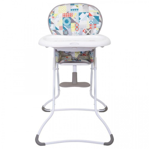 Graco Snack n Stow Compact Highchair, Patchwork