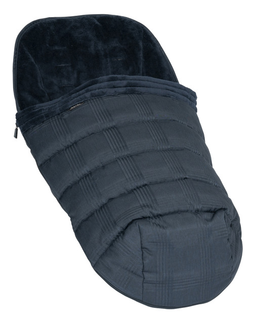 iCandy Peach Duo Pod - Liner / Footmuff - Navy Check