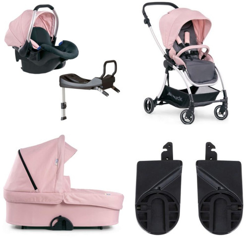 Hauck Eagle 4S Stroller (Pink/ Grey)2020 Full Travel System