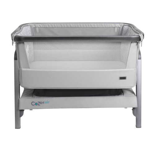 Tutti Bambini CoZee® Air Bedside Crib - Space Grey and Slate (Summer Sale)