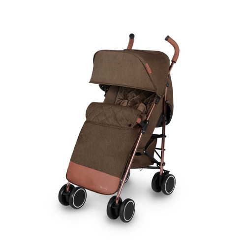 Ickle Bubba Discovery MAX Rose Gold Chassis Pushchair-Khaki