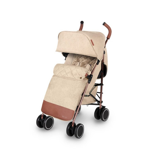 Ickle Bubba Discovery MAX Rose Gold Chassis Pushchair-Sand