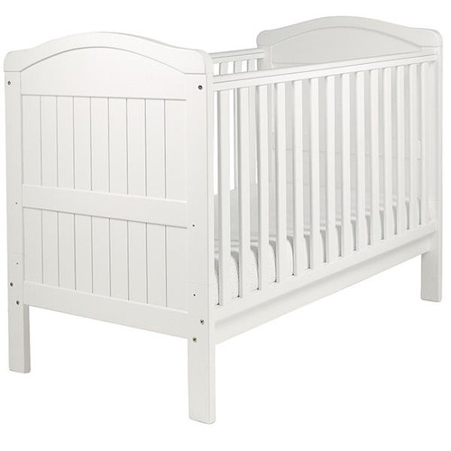 Country Cot Bed, White