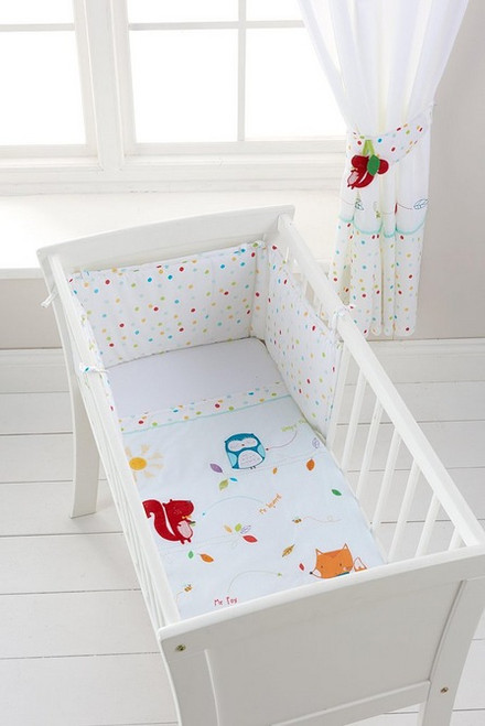 Sleepy Forest Friends Crib Set