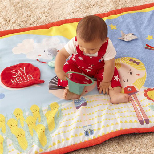 East Coast Say Hello Friends Double-Sided Activity Mat