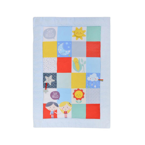 Baby Sensory Say Hello Patchwork Activity Mat
