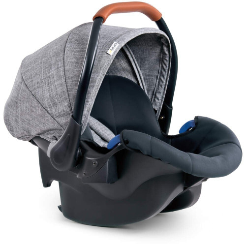 Hauck Comfort Fix 0+ Car Seat (Melange Grey)