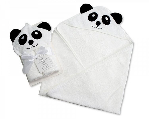 Baby Hooded Towel - Panda