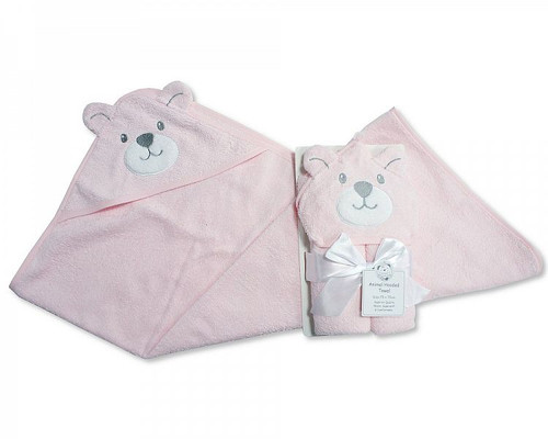Baby Hooded Towel - Teddy