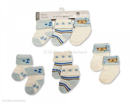 Baby Boys Socks Set of 3