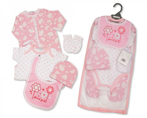 Baby Girls 5 pcs Gift Set - Sweet Girl