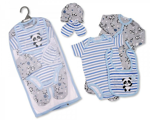 Baby Boys 5 pcs Gift Set - Panda
