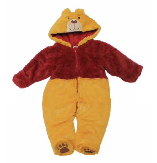 Boys  fur snowsuit..BEAR.