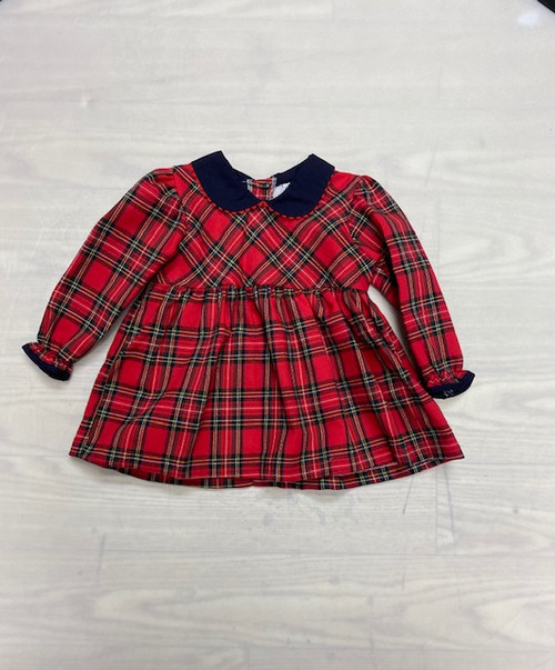 Girls tartan dress - Red