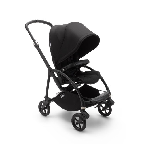 Bugaboo Bee 6 Black Complete Pushchair (Black)
