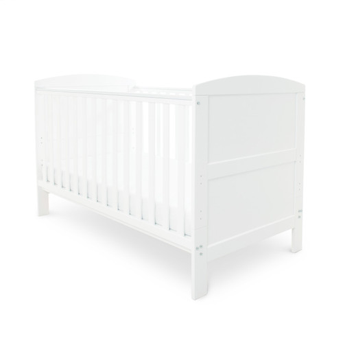 Ickle Bubba Coleby 2 Piece Cot Bed White :ID: 44-001-C2F