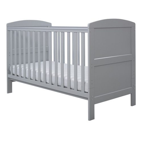Ickle Bubba Coleby 2 Piece Cot Bed Grey :ID: 44-001-C2F