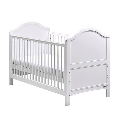East Coast Toulouse Baby & Toddler Cot Bed in White