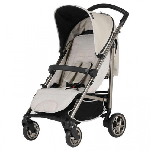 Bebecar Spot Compact Pushchair with Raincover, Beige (114) 2021