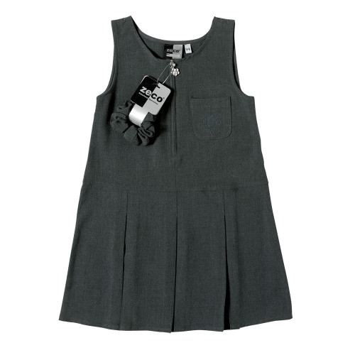 Zeco Girls Flower Embroidery Pinafore GP3033