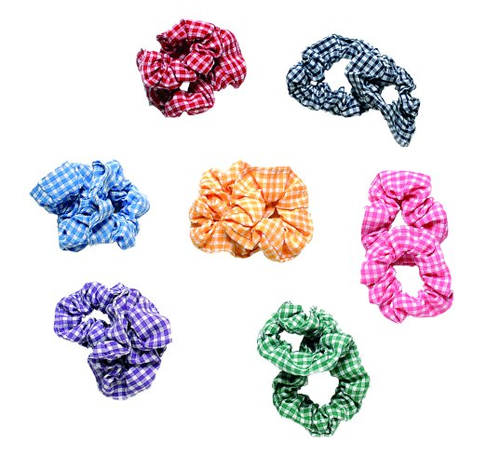 Zeco Girls Gingham Scrunchie GS3138
