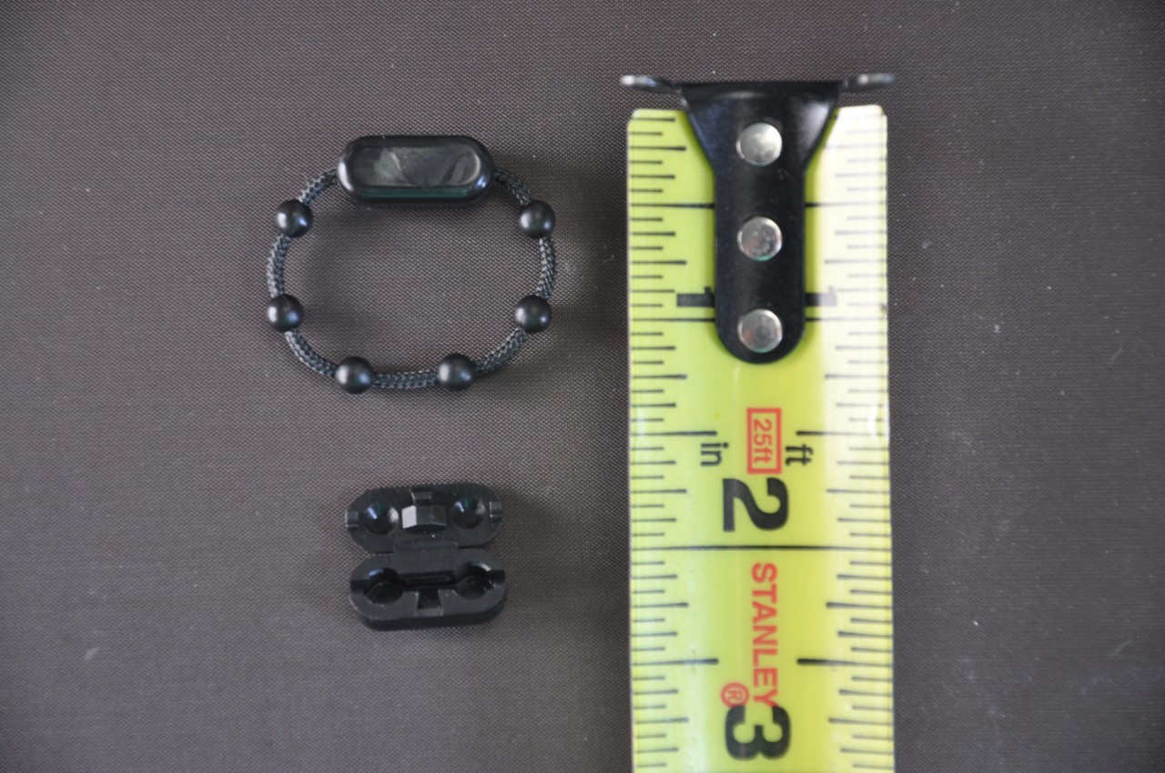 Cord Connector - Roll Ease Beaded Chain - Black - Connector Piece Attached