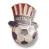 Soccer Hat Trick Pin #54