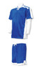 Winchester soccer uniform kit in royal/white