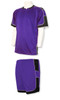 Nova soccer uniform kit in purple/black