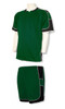 Nova soccer uniform kit in forest/black