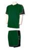 Nova soccer uniform kit in forest/black