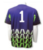 Diadora Fresco s/s keeper jersey in purple (with optional number on back)