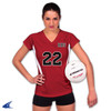 Custom Jerseys for all sports by Code Four Athletics - women's volleyball