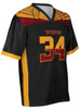 Custom sublimated football fan jersey by Code Four Athletics