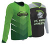 Custom sublimated long-sleeve tops by Code Four Athletics