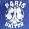 Paris United logo closeup