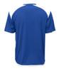 Diadora Grinta short sleeve soccer goalkeeper jersey, Royal, back