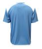 Diadora Grinta short sleeve soccer goalkeeper jersey, Columbia Blue, back