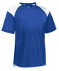 Diadora Grinta short sleeve soccer goalkeeper jersey, Royal Blue, front