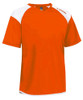 Diadora Grinta short sleeve soccer goalkeeper jersey, Orange, front