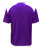 Diadora Grinta short sleeve soccer goalkeeper jersey, Purple, back